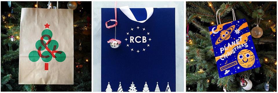 _christmas paper bag